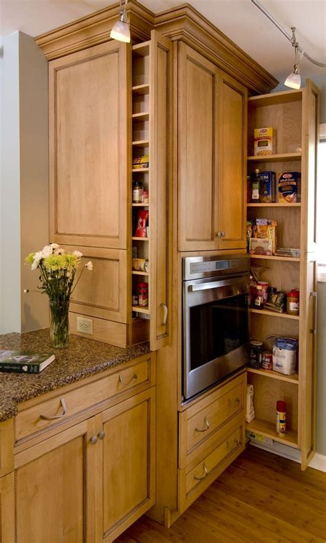 Beautiful Kitchen Pantries Kitchen Beautiful Kitchen Storage Inspiration With Maple