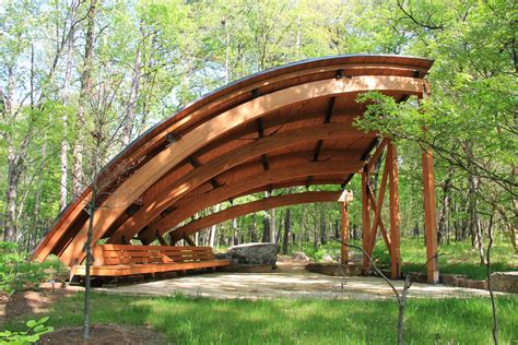 Hall Tree art and architecture the tulip tree shelter crystal