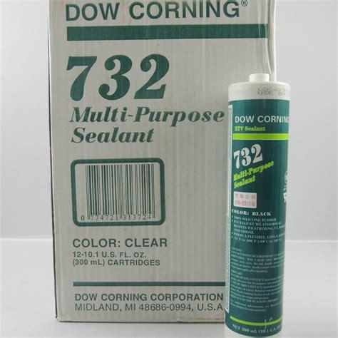 multi purpose dow corning rtv 732 multi purpose sealant 300ml tube