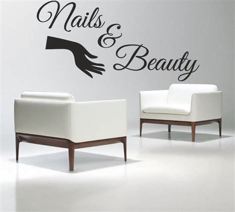 Window Decals For Nail Salon by Nail Salon Vinyl Wall Decal Nails Salon Varnish