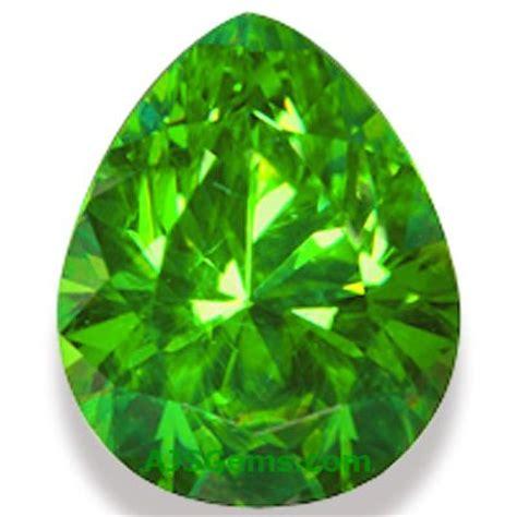 demantoid garnet gemstone information at ajs gems