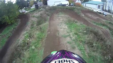 backyard dirt bike track backyard motocross track youtube