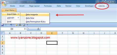 kode html membuat menu bar tutorial membuat menu baru di worksheet menu bar excel
