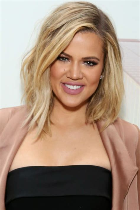 khloe kardashian s new lob 25 best ideas about khloe kardashian haircut on pinterest