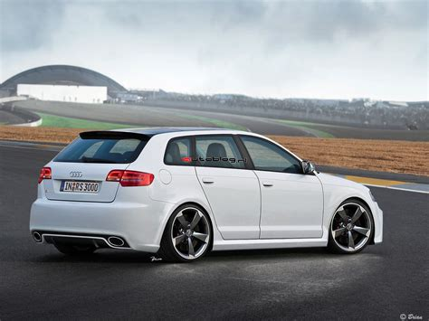 Audi A3 Rs3 by Audi Rs3 Sportback Rendering Autoblog Nl