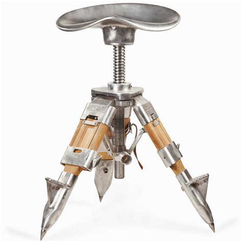 diy tripod c chair amir abbas kashef constructs adjustable tripod chair of