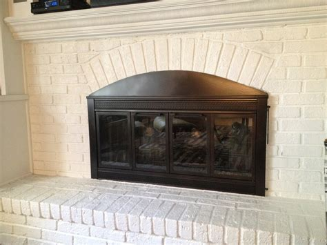 rustoleum fireplace paint rust oleum high heat spray paint in rubbed bronze to cover that brass hint