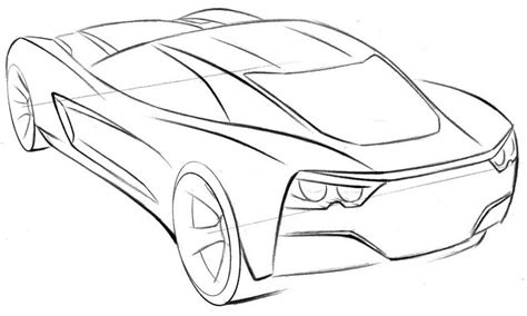 coloring pages corvette cars corvette coloring pages to and print for free