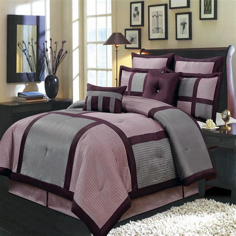 king size purple comforter sets bedroom elegant purple comforter sets for bedroom