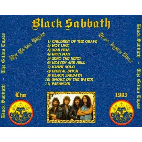 black sabbath paranoid guitar 3 cover version gillan black sabbath mp3 buy tracklist