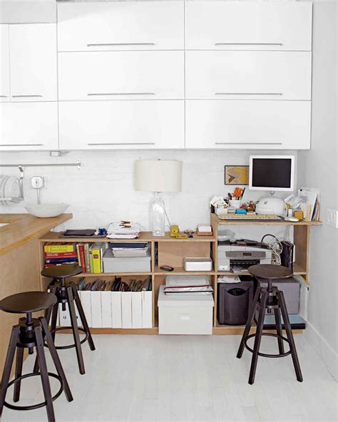 Before And After A Transformed Desk Area Martha Stewart Martha Stewart Desk Organization