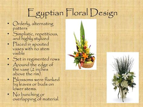 Greek Vases Designs Ppt The History Of Floral Design Powerpoint Presentation