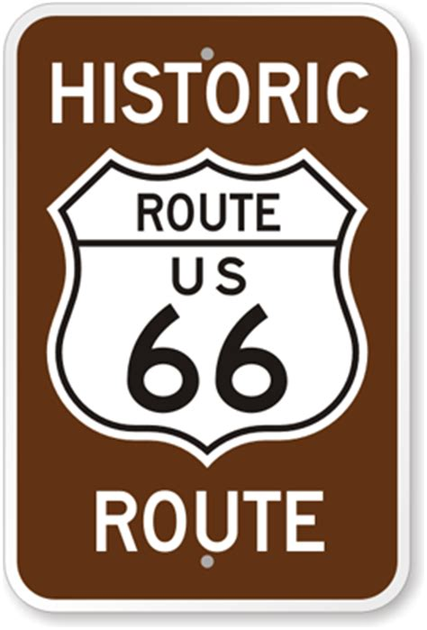 Economical Homes history of the american route marker and route 66