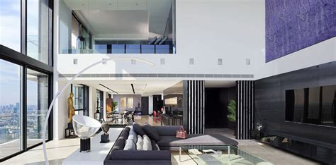 modern luxury penthouses the pano triplex penthouse a unique private house in the