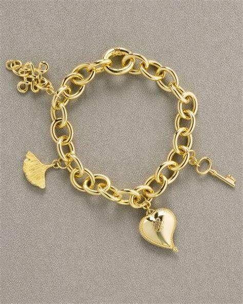 H Stern Dvf Charm Bracelet in Gold   Lyst