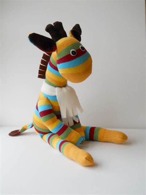 sock animals giraffe sock giraffe doll flickr photo