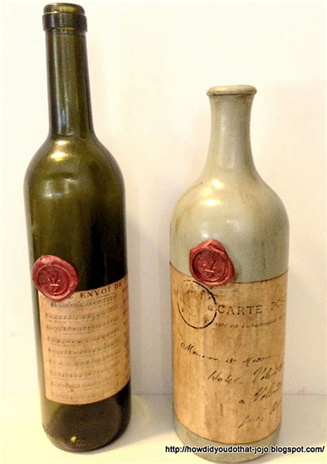 Home Decorating Ideas For Wedding by Antique Wine Bottles Reader Featured Project The
