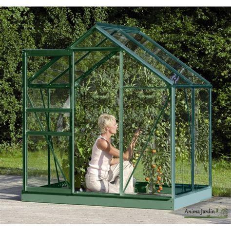 achat serre jardin serre jardin aluminium venus 2500 en verre horticole 2 50m2 achat vente lams