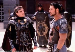 gladiator film score barbarian horde joaquin phoenix s 20k ducati motorcycle breaks down in