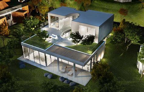 Modern Home Design Korea by The Oval Modern Villa By Planning Korea