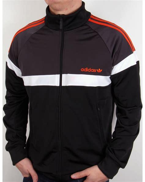 Adidas Orange Black adidas jacket black and orange l d c co uk