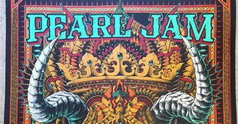 Jam Kaleng Hk D Hk336 4 inside the rock poster frame pearl jam bioworkz pemberton festival poster world premiere