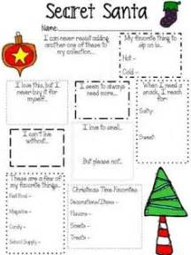 1000 ideas about secret santa questionnaire on pinterest