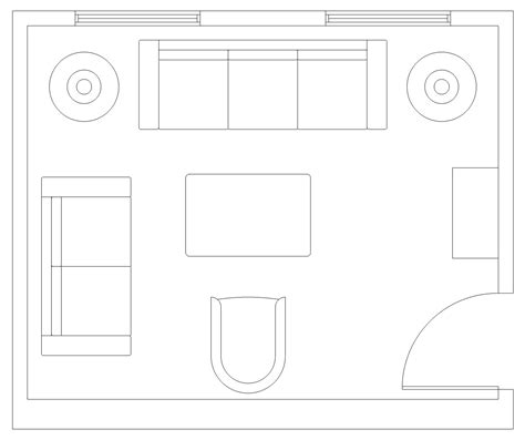 technical floor plan sketchup technical floor plan brown 3d visualisation