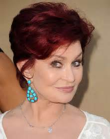 back view of osbourne haircut sharon osbourne hairstyles 2013 short hairstyle 2013