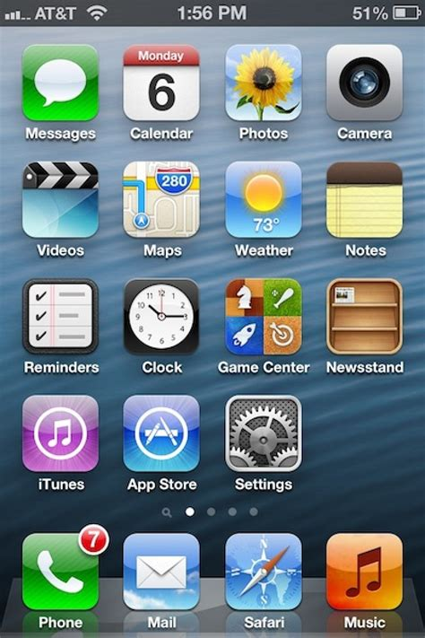 Okay Home Screen by Ios 6 Beta 4 Removes Dedicated App Updated Mac