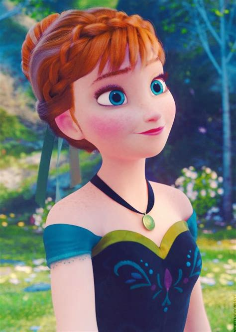 anna from frozen hairstyle 17 best images about anna s coronation dress on pinterest