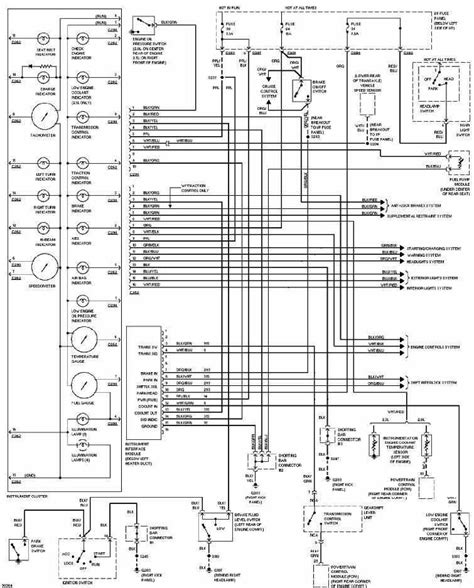 electric power steering 1997 ford thunderbird instrument cluster instrument cluster wiring diagram of 1997 ford contour circuit wiring diagrams
