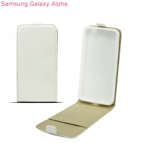 Flipcover Flip Cover Ume Samsung Galaxy Alpha G850 leather pocket flip