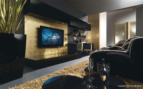 and black living rooms black and gold italia living room interior design ideas