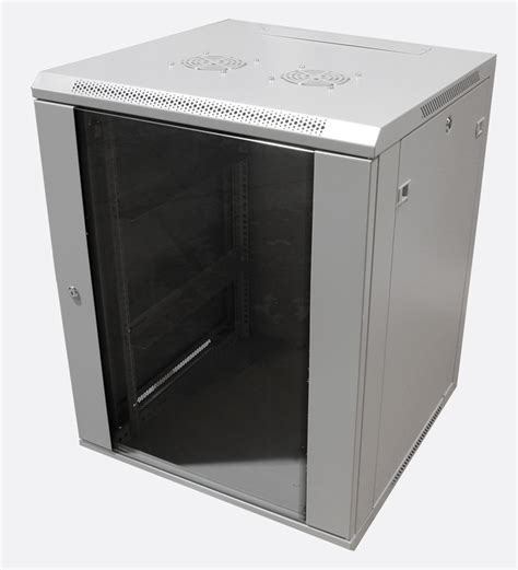 Wall Rack Cabinet by Enclosure Systems 4084518 G T Wall Rack Cabinet 18u 450d