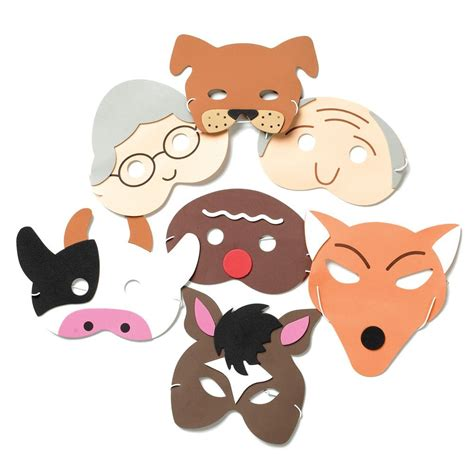 printable masks for the gingerbread man the gingerbread man storytelling masks from early years