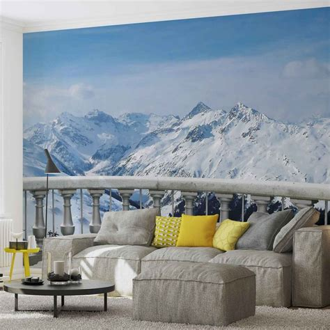 mountain wall murals mountain wall paper mural buy at europosters