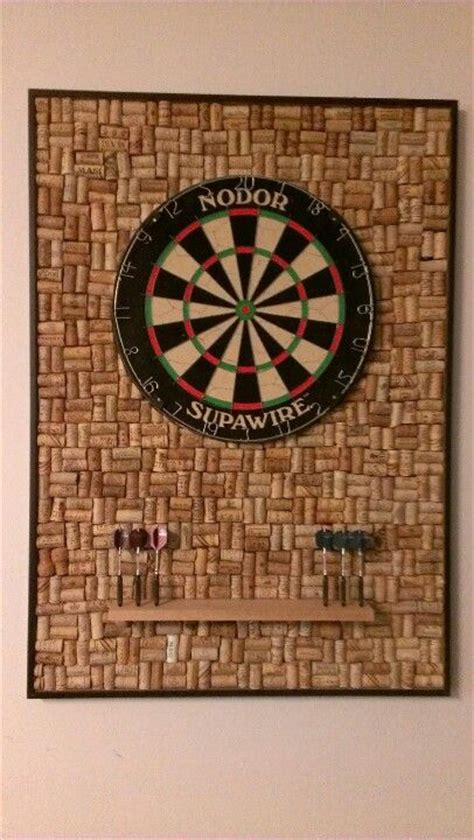 wine cork dart board diy ideas darts board corks darts