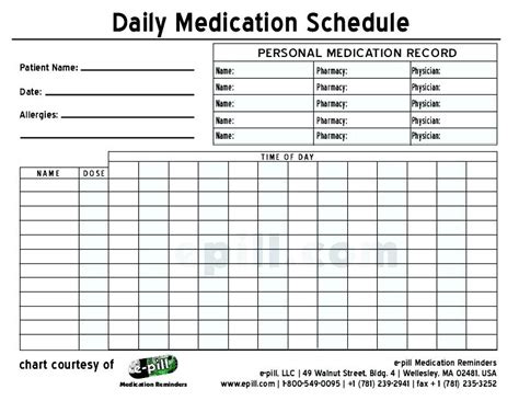 9 best images of printable medication administration