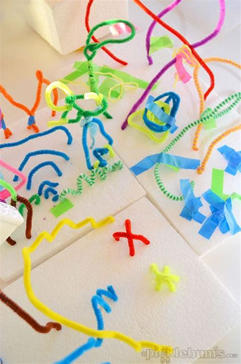 Sensory Toys Pipe Cleaner Isi 10 17 best ideas about 3d projects on high