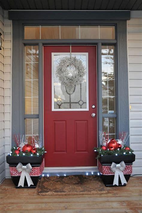 red  grey christmas decorations ideas interior god