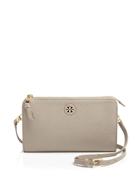 Burch Crossbody burch robinson pebbled crossbody in gray gray