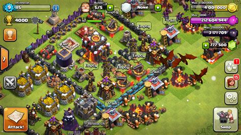 mod game clash of clans 2015 clash of clans v7 65 5 mod apk private server download