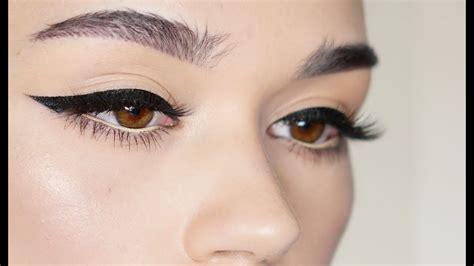 Eyeliner My my winged eyeliner how i do it funnycat tv