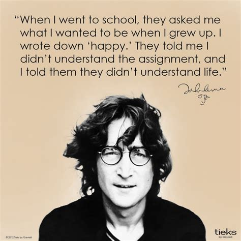 quote by john lennon when i was 5 years old my mother by john lennon quotes quotesgram