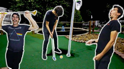 luckiest mini golf shots  part  youtube