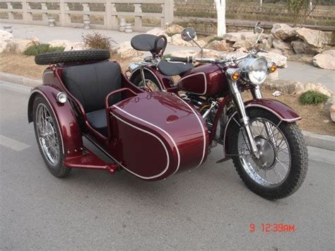 Bmw Motorrad Jobs by 1986 Chang Jiang 750 With Sidecar With Maroon Paint Job