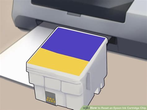 resetting your printer cartridge how to reset an epson ink cartridge chip 15 steps with