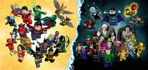 511 Paket Black Green Box Exclusive lego official dc heroes justice league 2015 set images the toyark news