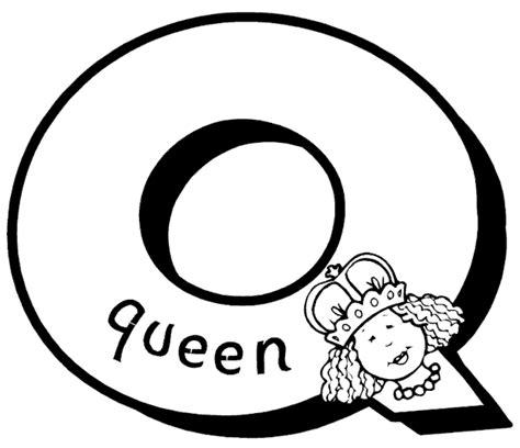 Letter Q Coloring Page Letter Q Coloring Page